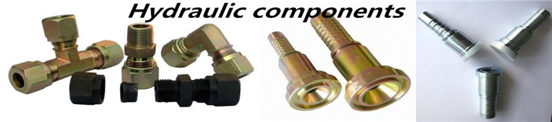 Hydraulic steering components