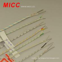 MICC high temperature ceramic fiberglass extension thermocouple wire