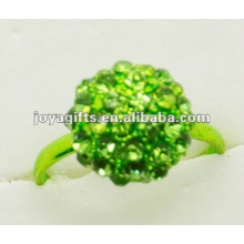 2012 Hot Sell Shamballa Balls Ring