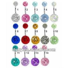 Perçage personnalisé piercing du nombril nombril anneau du ventre piercing bijoux
