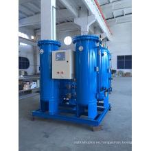 En sitio Psa Generador de oxígeno para el tratamiento de agua y aguas residuales.