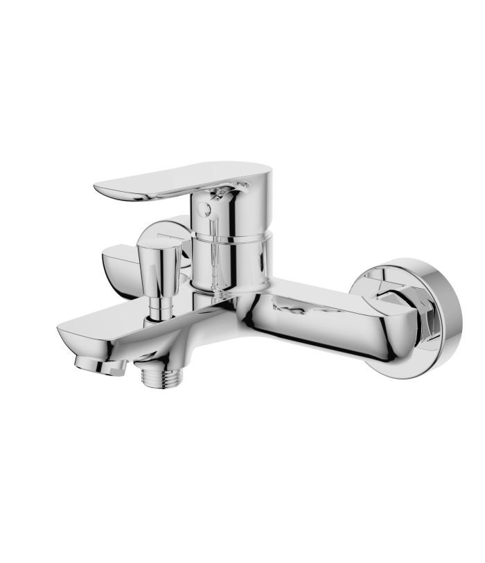 SINGLE LEVER BATH-SHOWER MIXER BRASS CHROME faucet
