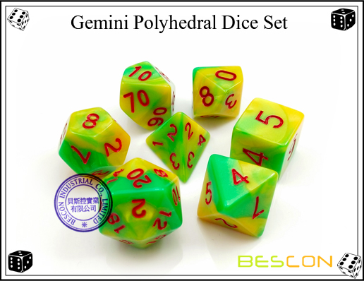 Gemini RPG Dice Set-10