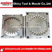 16 Cavity Cold Runner Disposable Plastic Injection Cutlery Mould