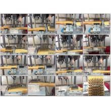 2 Achsen High Speed CNC automatische Stahldrahtbürstenmaschine