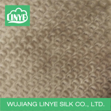 high quality soft faux fur fabric, double side velvet blanket