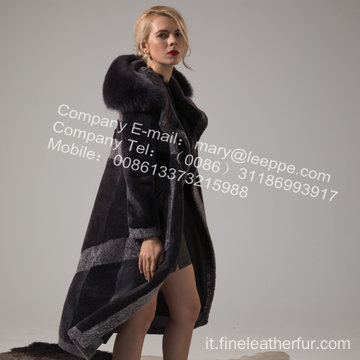 Lady Winter Coat With Fur