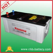 Bateria automotiva de carga seca de 12V 180ah para caminhões pesados