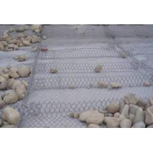 Flutverhinderung Gabion Korb Reno Matratze