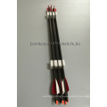 31~33inch archery carbon tubes fiber arrows with 2inch balzer vanes