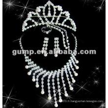 Dernier ensemble de bijoux de mariée (GWJ12-521)