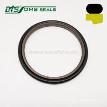 tampão da haste do selo da etapa do bronze de PTFE do marrom 40% do marrom para o cilindro hidráulico GSJ