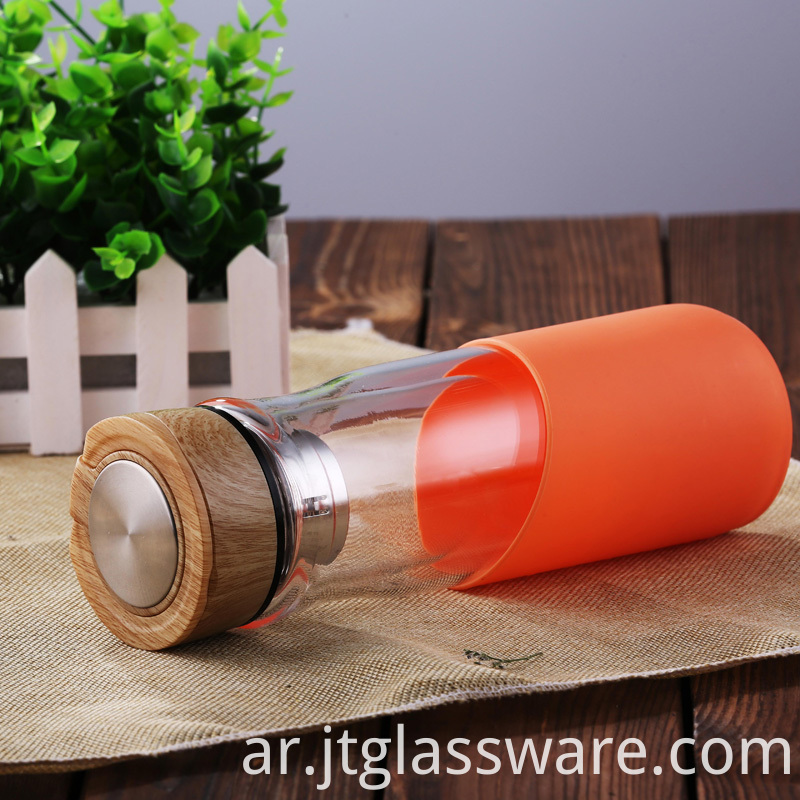 High Quality Glass Water Bottle