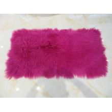 Long Hair Curly Lamb Fur Blanket