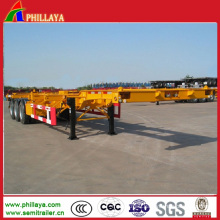 Skeletal Trailer Chassis for Containers Loading