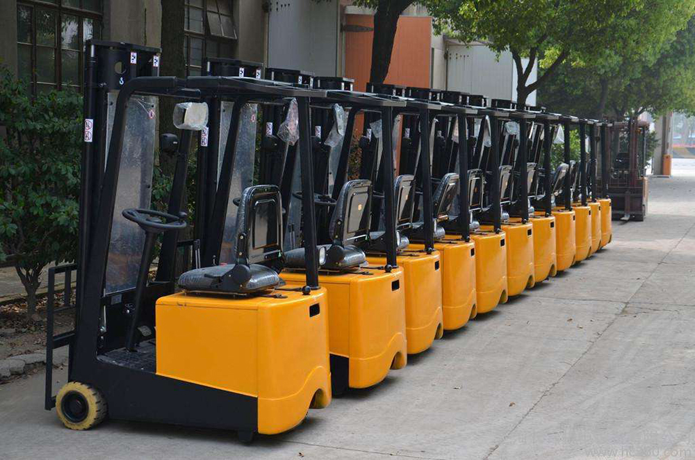 electric operated forklift