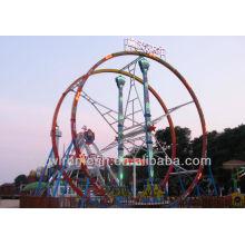 drôle! Machine de parc d'attractions Ferris Flying Car