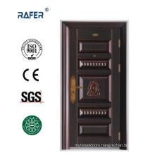 New Design and Hot Sale Cooper Color Steel Door (RA-S070)