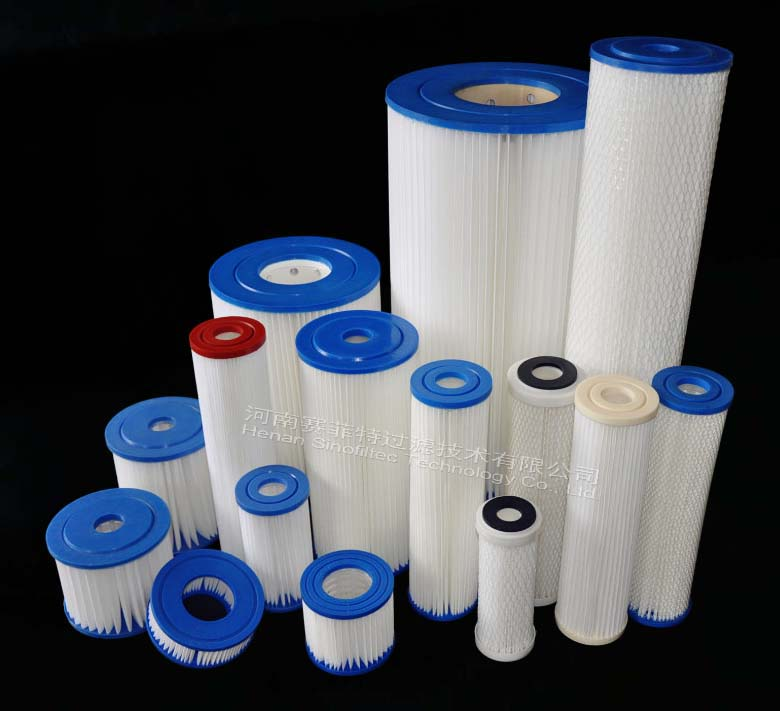 Pleated Polyester Pre-filter Cartridge