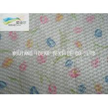 Printed100% algodão Seersucker tecido para vestuário