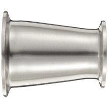 Acessórios de tubulação de tubo de extremidade de aperto sanitário de aço inoxidável