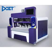 DT1610Doubles têtes asynchrones grande vision caméra laser machine de découpe