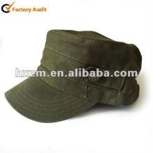 Chapeau de cadet de l'armée militaire de style militaire vert olive