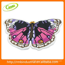 Butterfly Style Bath Mat in the Bathroom
