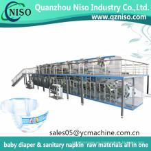 Máquina de pañales desechables para bebé Chiaus