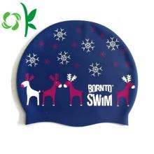 Esporte de água impresso costume do tampão do logotipo da nadada do silicone