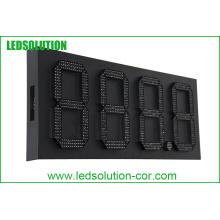 Signe imperméable extérieur de prix de gaz de sept segments LED de 15 pouces / signe de Digital LED