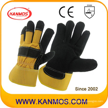 Industrial Safety Genuine Cow Split Leather Work Gloves (11012)