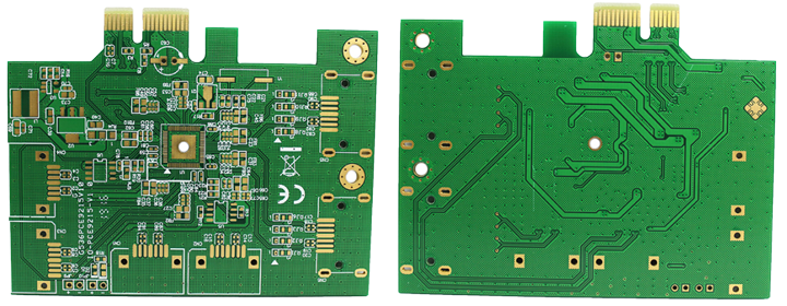 2 Layer Gold Finger Immersion Gold PCB