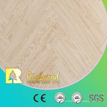 Piso laminado laminado de madera del arce del tablón del vinilo 12.3mm E0 AC4