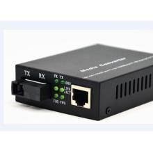 LC Fiber Gigabit Multimode Media Converter Box