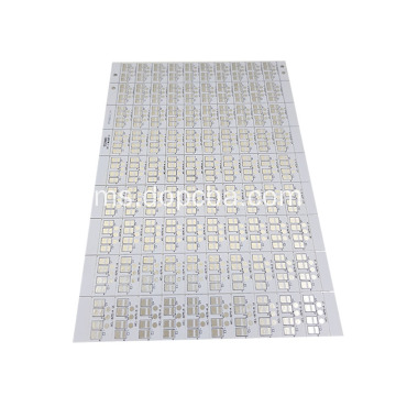 Papan litar aluminium bercetak 2Layer LED Assembly PCB