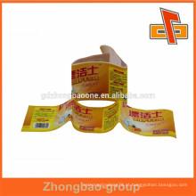 Película quente chinesa do bopp da película da pérola do selo do calor da venda quente para a impressão