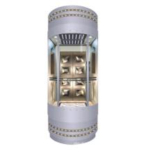 Panoramischer Aufzug 1600kg mit der Maschine Raumlos