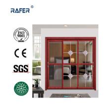 Vendre la meilleure grande porte en verre d'aluminium (RA-G136)