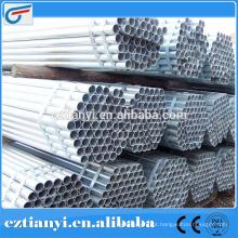 Hot Pressre galvanizado de aço carbono tubo sem costura