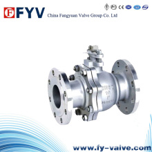 (API 598) Flanged Stainless Steel Ball Valve