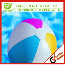 Bolas de playa inflables divertidas impresas logotipo promocional del PVC