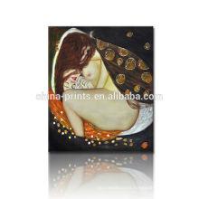 Pintura atractiva desnuda del arte de la pared / pintura de la copia del artista famoso / pintura al óleo famosa