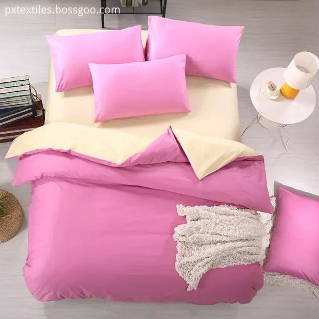 Microfibre Solid Comforter Cover Set