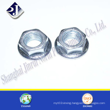 Normal Product Zinc Finished Hex Flange Nut