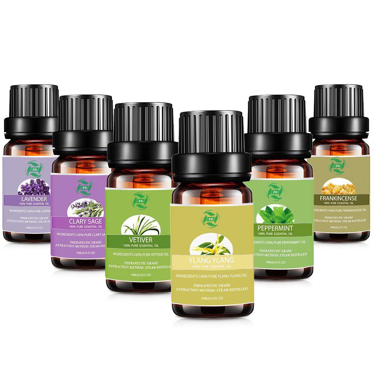 essential oil set 6
