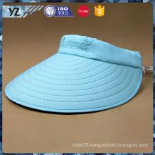 Hot promotion long lasting visor cap with fake hair with good offer
