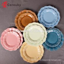 China-Fabrikverkauf Weihnachtsgeschenk dekorative keramische Platte / Teller