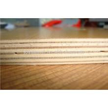 Contre-plaqué hpl en mélamine face au bois (bouleau de chêne en wenge en noyer) pour la construction de l'emballage de meubles