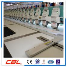 12 голов 9 высокоскоростных игл плоская компьютеризированная вышивальная машина